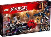 """LEGO Ninjago """"Киллоу против Самурая Икс"""""""