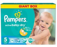 "Подгузники ""Pampers Active Baby-Dry Junior"" (11-18 кг, 78 шт)"