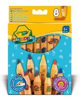 """Набор карандашей цветных """"Crayola. Для малышей"""" (8 цветов)"""