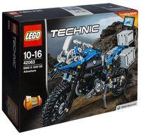 """LEGO Technic """"Приключения на BMW R 1200 GS"""""""