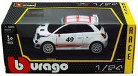 "Модель машины ""Bburago. Fiat Abarth 500 Assetto Corse"" (масштаб: 1/24)"