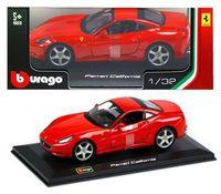 """Модель машины """"Bburago.  Ferrari California GT"""" (масштаб: 1/32)"""