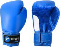 Перчатки боксёрские детские (4 унции; синие)