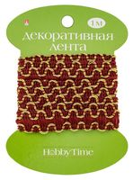"""Тесьма декоративная """"Hobby Time"""" (1 м; арт. 2-609/05)"""