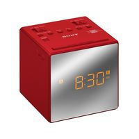 Радиочасы Sony ICF-C1T (красные)