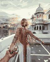 """Картина по номерам """"Иди за мной. Индия"""" (500х650 мм)"""