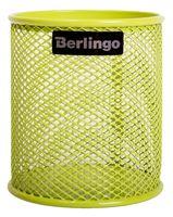 """Подставка для канцелярских принадлежностей """"Berlingo"""" (зеленая)"""