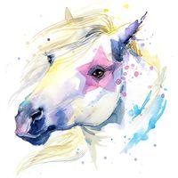 "Репродукция на холсте ""Лошадь"""