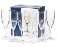 "Бокал для шампанского стеклянный ""French Brasserie"" (6 шт.; 170 мл)"