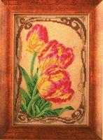 "Вышивка бисером ""Бархатные тюльпаны"" (170х260 мм)"