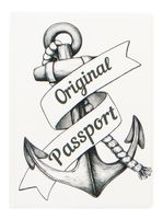 """Обложка для паспорта """"Anchor"""""""