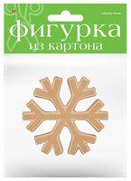 """Заготовка картонная """"Снежинка"""" (115х20х105 мм)"""