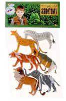 """Набор фигурок """"Дикие животные"""" (6 шт.; арт. HB335-6)"""