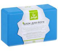"""Блок для йоги """"Sangh"""" (синий; арт. 3551188)"""