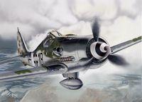 "Истребитель ""Focke-Wulf Fw 190 D-9"" (масштаб: 1/72)"