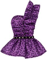 "Одежда для куклы ""Барби. Сиреневый топ"""