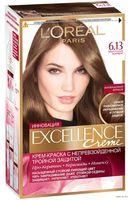 """Крем-краска для волос """"Excellence"""" (тон: 6.13, темно-русый бежевый)"""
