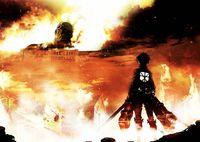 "Постер ""Attack on Titan"" (арт. 111)"