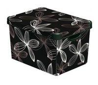 """Коробка для хранения """"Black Lily"""" (395х295х250 мм)"""