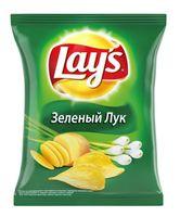 """Чипсы картофельные """"Lay's"""" (80 г; зеленый лук)"""
