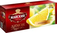 """Чай черный """"Сочный вкус"""" (25 пакетиков)"""