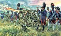 "Набор миниатюр ""Артиллерия имперской гвардии"" (масштаб: 1/72)"
