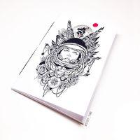"""Блокнот """"Девушка космонавт"""" (А5; арт. 454)"""