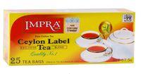 """Чай черный """"Impra"""" (25 пакетиков)"""