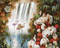 "Картина по номерам ""Райский сад"" (300х400 мм)"