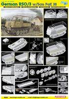 """Набор миниатюр """"RSO/03 w/5cm PaK 38"""" (масштаб: 1/35)"""