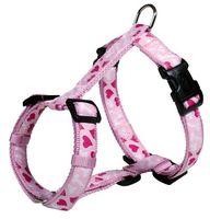 """Шлея для собак """"Modern Art H-Harness Rose Hearts"""" (размер S-M, 40-65 см, розовый, арт. 15998)"""