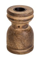 Подсвечник деревянный (9,5х5,5 см; арт. A54007140)