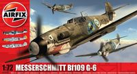 "Истребитель ""Messerschmitt BF109 G-6"" (масштаб: 1/72)"