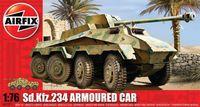 "Тяжелый бронеавтомобиль ""Sd.Kfz.234 German Armoured Car"" (масштаб: 1/76)"