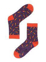 """Носки женские """"Морковка"""" (036, фиолетовые)"""
