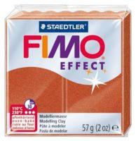 """Глина полимерная """"FIMO. Effect Metallic"""" (медь; 56 г)"""