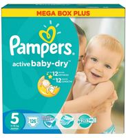 "Подгузники ""Pampers Active Baby-Dry Junior"" (11-18 кг, 126 шт)"