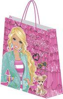 """Пакет бумажный подарочный """"Barbie"""" (28х34х9 см; арт. BRAA-UG1-2834-EBg)"""