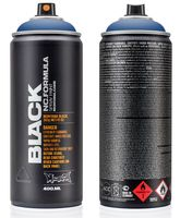 """Краска аэрозольная """"Black. Sorrento Blue"""" (синяя; 400 мл)"""
