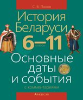 История Беларуси. 6-11 классы. Основные даты и события с комментариями