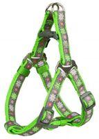 """Шлея для собак """"Modern Art Harness Blooms"""" (размер XХS-ХS, 25-35 см, зеленый)"""