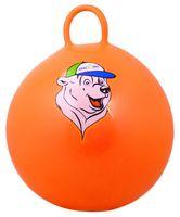 """Мяч-попрыгун с ручкой """"Медвеженок"""" GB-403 (65 см; оранжевый)"""