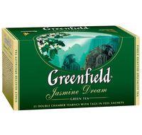 "Чай зеленый ""Greenfield. Jasmine Dream"" (25 пакетиков)"
