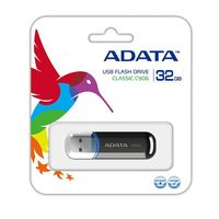 USB Flash Drive 32Gb A-Data C906 (Black)