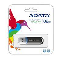 USB Flash Drive 32Gb A-Data C906 (Black)