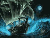 "Картина по номерам ""Корабль-призрак"" (400х500 мм)"