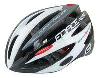 """Шлем велосипедный """"Road"""" (черно-бело-серый; р. L-XL)"""