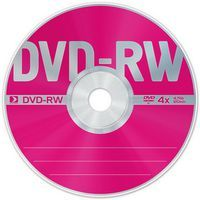 Диск DVD-RW 4.7Gb 4x Data Standard Bulk 50