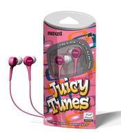 Наушники Maxell JUICY TUNES (Pink)