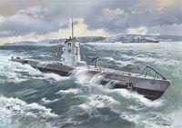 Германская подводная лодка U-Boat Type II МB 1939г. (масштаб: 1/144)